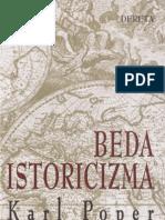 Karl Poper Beda Istoricizma