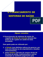 Financiamento Dos Sist. Saude I