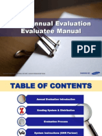 Evaluation Manual
