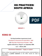 Corporate Governance in South Africa