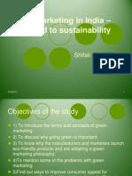 Study Circle Green Marketing Final