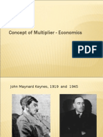 Concept of Multiplier