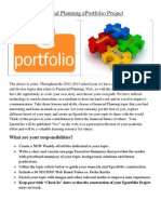 financial planning eportfolio project - wise