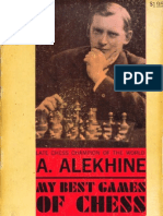 Alexander Alekhine - My Best Games of Chess, 1908-1923