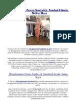 Abbigliamento Donna Sandwich