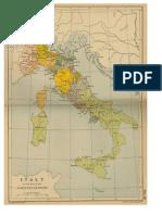 Mapa Italia Siglo XVI