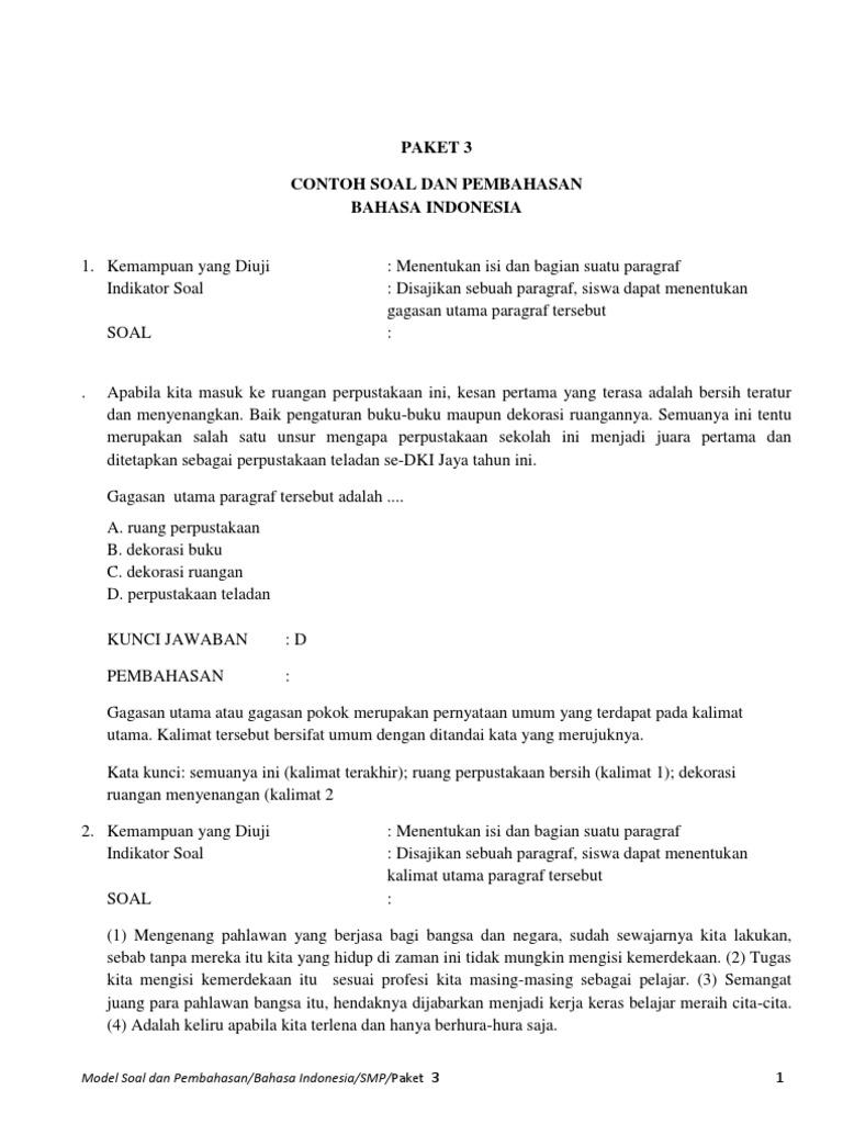 23++ Contoh Soal Melengkapi Cerpen Rumpang - Kumpulan ...