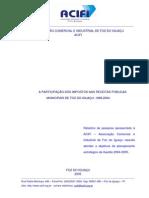 PARTICIPAÇÃO_IMPOSTOS_RECEITAS PÚBLICAS MUNICIPAIS_FOZ DO IGUAÇU_1989-2004