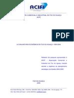 A CONJUNTURA ECONÔMICA DE FOZ DO IGUAÇU_1990-2004