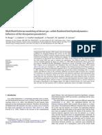 Multifluid Eulerianmodelingofdensegas–solidsfluidizedbedhydrodynamics: Influence ofthedissipationparameters