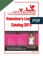 Noveltease 2013 Valentine's Lingerie Catalog