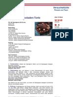 Ananas Schokoladen Torte