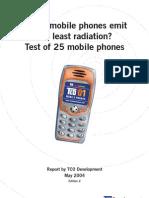 Mobile phones SAR