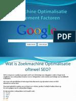 SEO Uitleg & Internet marketing bureau limburg