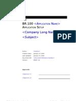 C-br-100 Application Setup Document