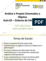 APOO2012.1 - Aula02_SI