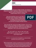Diccionario Multilingue de Precursores