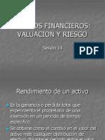 Activos Financieros Valuacion y Riesgo