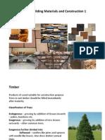 Building material - Timber