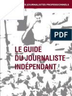 Le Guide Du Journaliste Independant