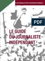 Le Guide Du Journaliste Independant
