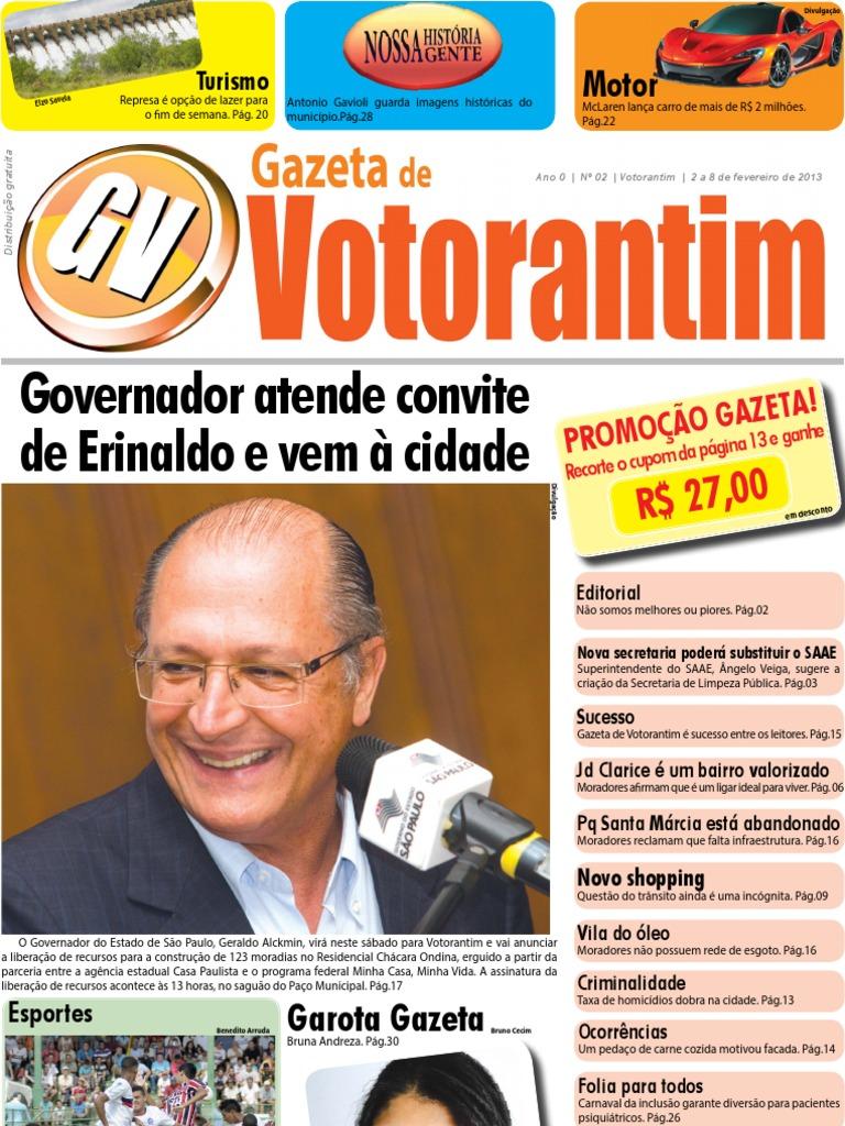 e19ec207bd Gazeta de Votorantim   2ª Edição