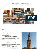 Vernacular Building Material - Lime