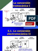 conversion electromecanica