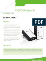Tl-wp281kit v1 Datasheet