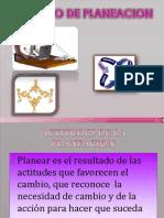 Proceso de Planeacion Actitudes de La Planeacion 1