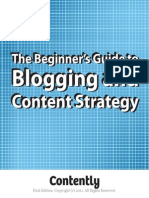Beginners Guide To Blogging and Content Strategy