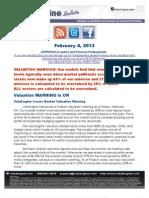 ValuEngine Issues Market Valuation Warning