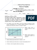 4_Interpretação de gráficos s=f(t) e v=f(t) (Mini-ficha)
