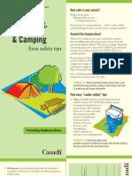Picnicking, Hiking & Camping Food Safety Tip