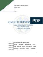 CIMENTACIONES ESPECIALES