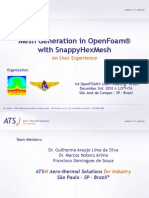 openfoam model snappyhexMesh tutorial