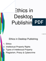 ethics in desktop publishing