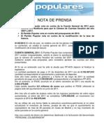 Nota Informativa Pleno 31-01-2013