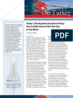 Turkey's Development Assistance Policy