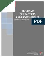 PROGRAMA DE PRÁCTICAS IV AÑO