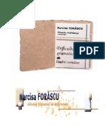 Narcisa Forascu, Dificultati Gramaticale Ale Limbii Romane