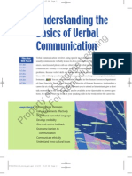 Understanding the Basics of Verbal Communication