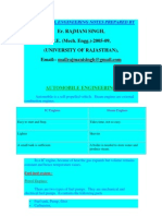 100494863 Mechanical Engineering Notes