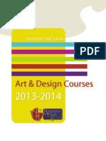 art program of studies13-14