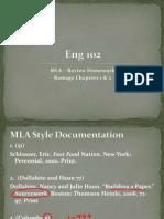 MLA & Ramage 1 & 2