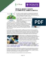 Organización del movimiento Scouts y A limpiar el mundo (1)