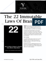 Al Ries & Jack Trout - The 22 Immutable Laws of Branding