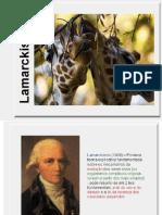Bg Ano2-Lamarckismo e Darwinismo