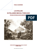 Lo Stalòn di Palazzo Micoli Toscano in Mione di Ovaro