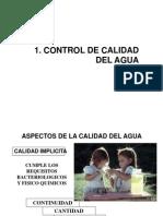 Tecnica Muestreo Aguas - Caso Agua Potable